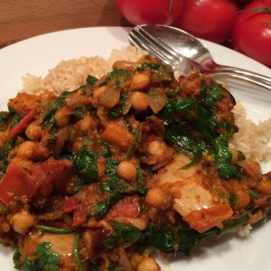 Vegetarische Pompoencurry 1
